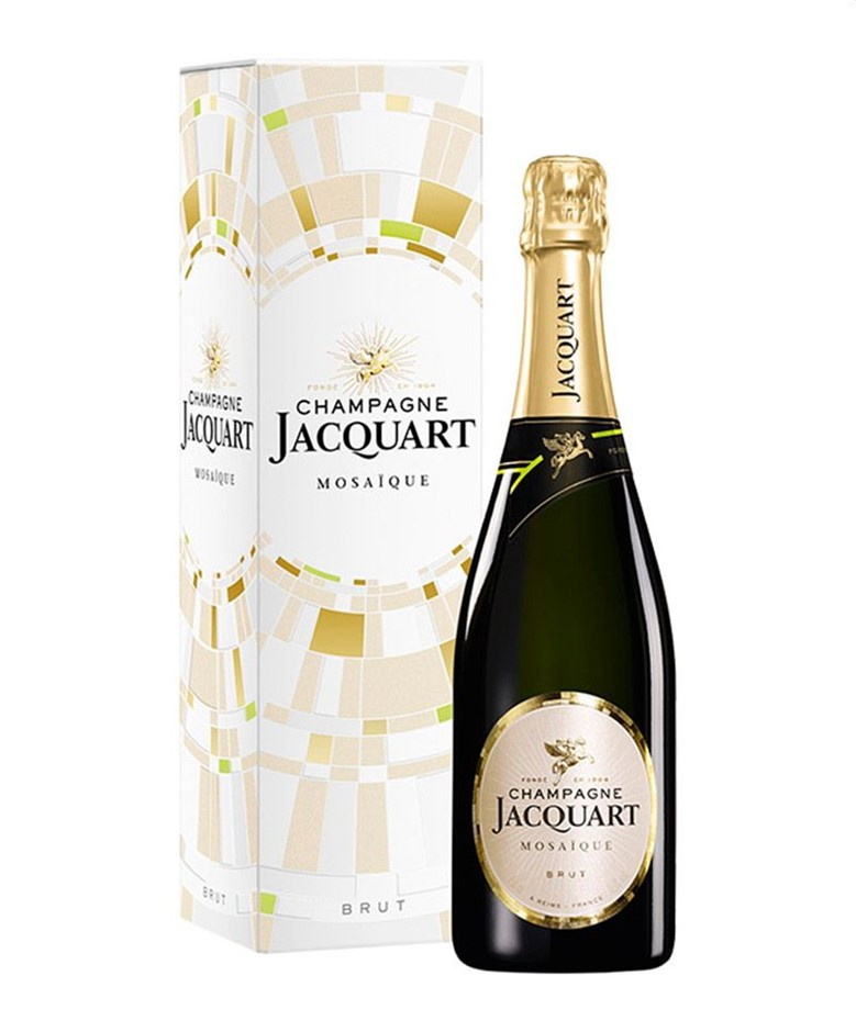 Jacquart Brut Mosaique with gift cartons NV (6x 750mL).