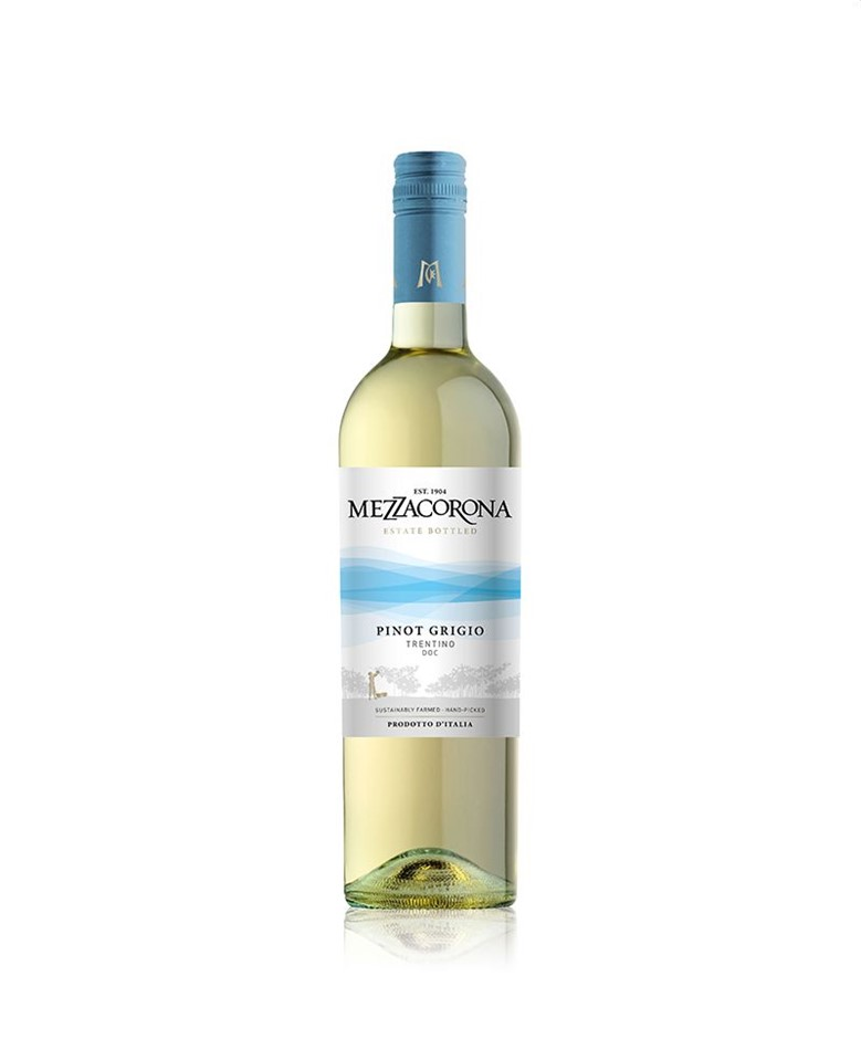 Mezzacorona Pinot Grigio 2019 (12x 750mL).