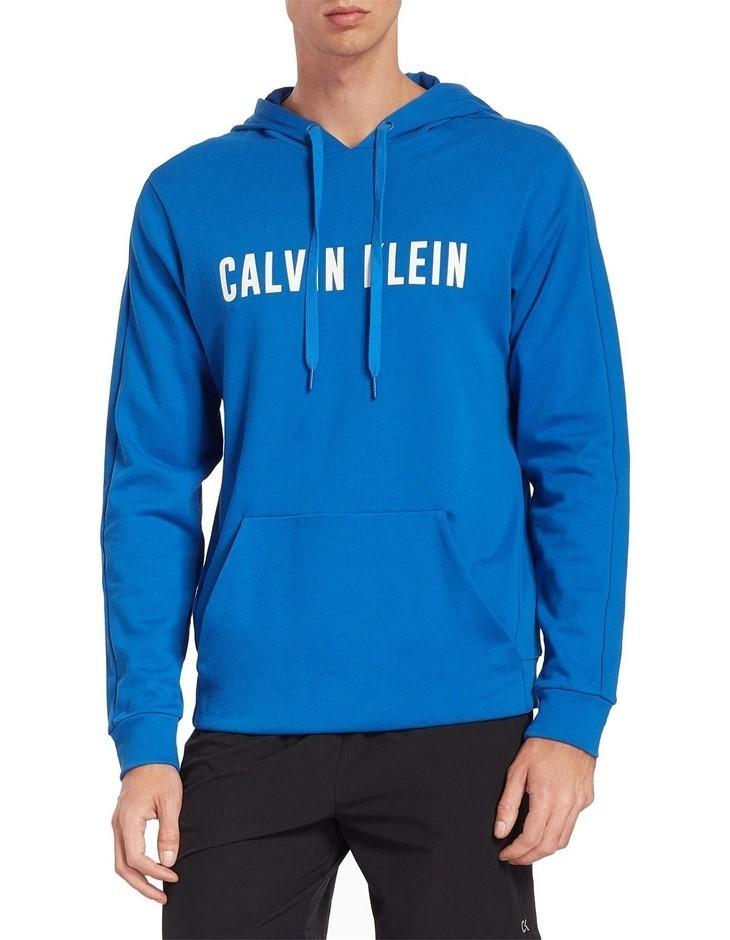 CALVIN KLEIN Calvin Klein Performance Logo Hoodie. Size: XL. Colour: Nautic