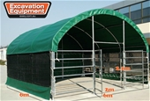 Unused 6m x 6m Multi Purpose Enclosed Shelters