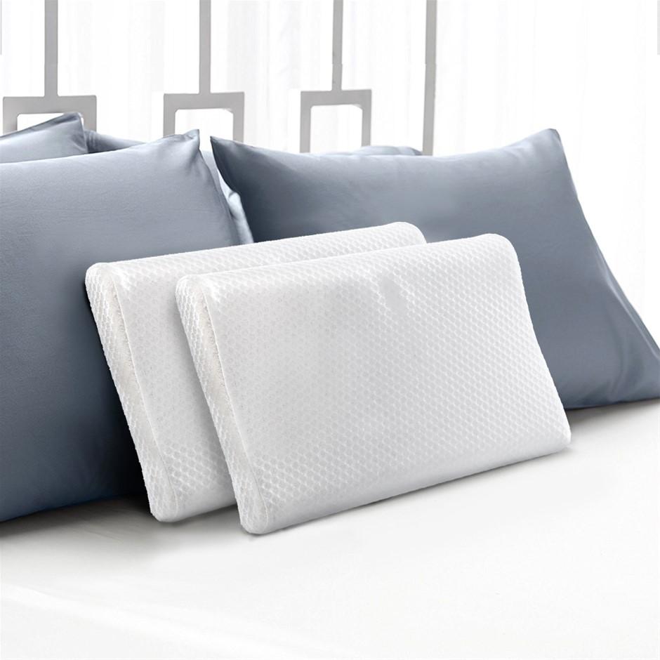 Giselle Memory Foam Pillow Contour Low Profile Contour Small Cushion