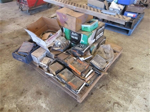 Pallet of Assorted Axle and Brake Spares