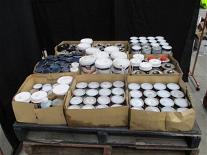 Large Quantity of Assorted Paint