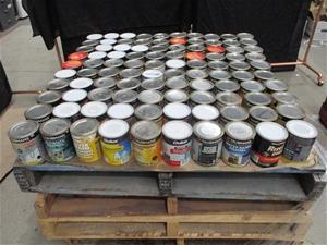 Pallet of 1L Assorted Paints