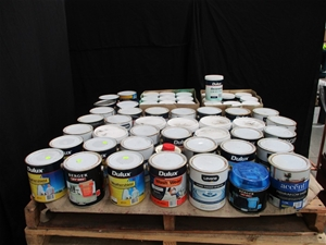 Pallet of 2L Assorted Paints