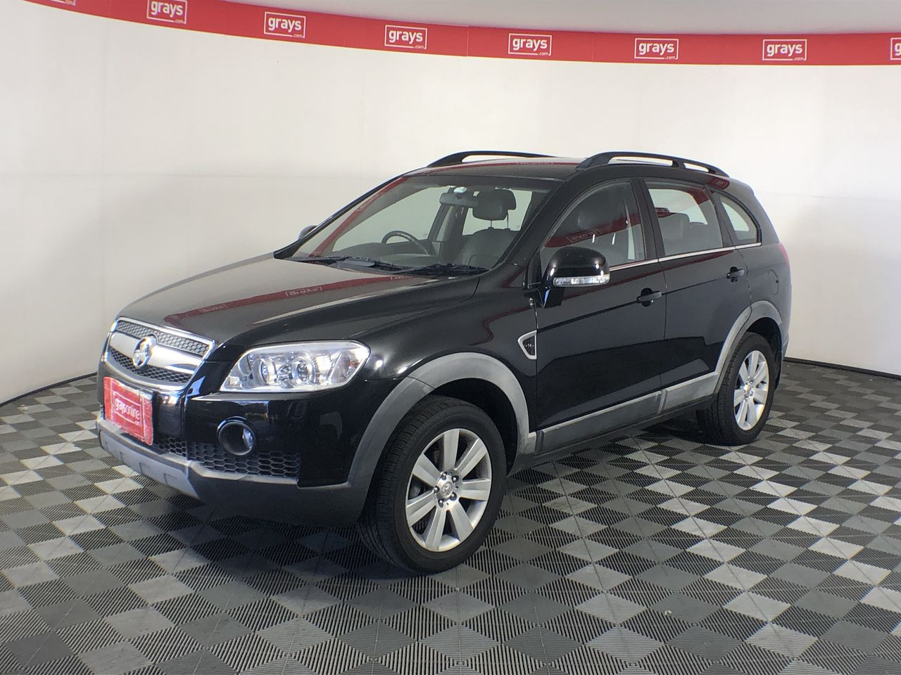 2007 Holden Captiva LX (4x4) CG Automatic 7 Seats Wagon