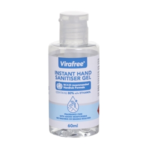 (3 Pack) Virafree Instant Hand Sanitiser