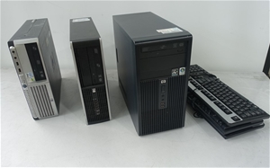Bulk Lot Of Assorted Hp Desktop Pc