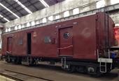 Railway Freight  Guards Wagon