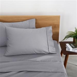 Natural Home Organic Cotton Sheet Set Si