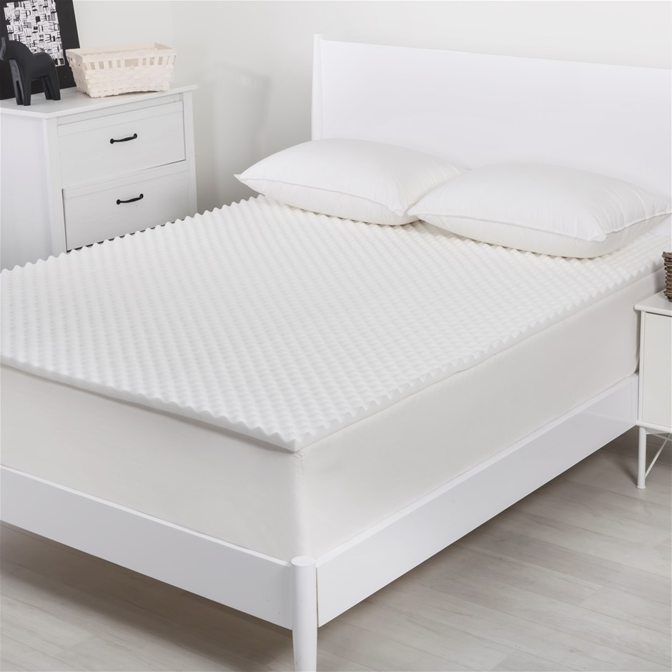 Dreamaker Convoluted Foam Underlay King Single Bed