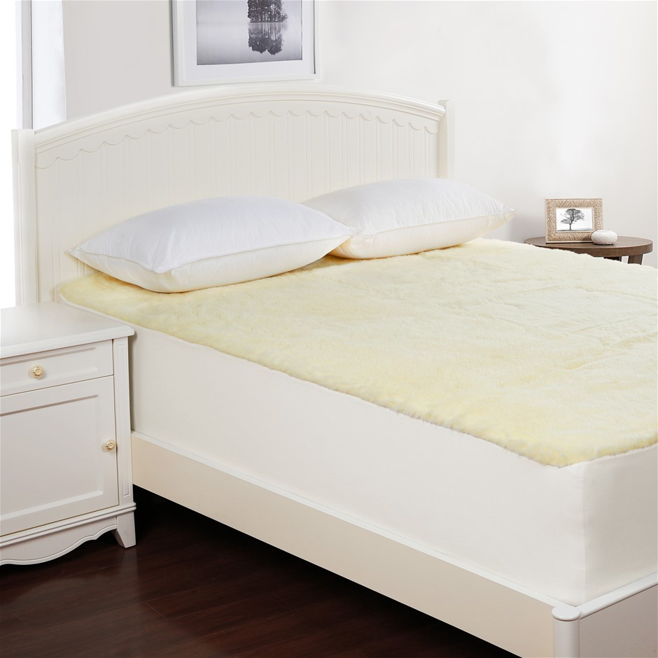 Dreamaker Wool Underlay Double Bed