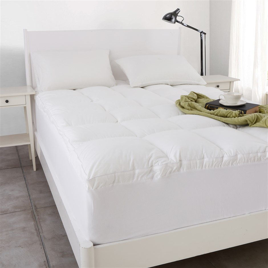 Dreamaker 1000gsm Down Alternative Mattress Topper Single Bed