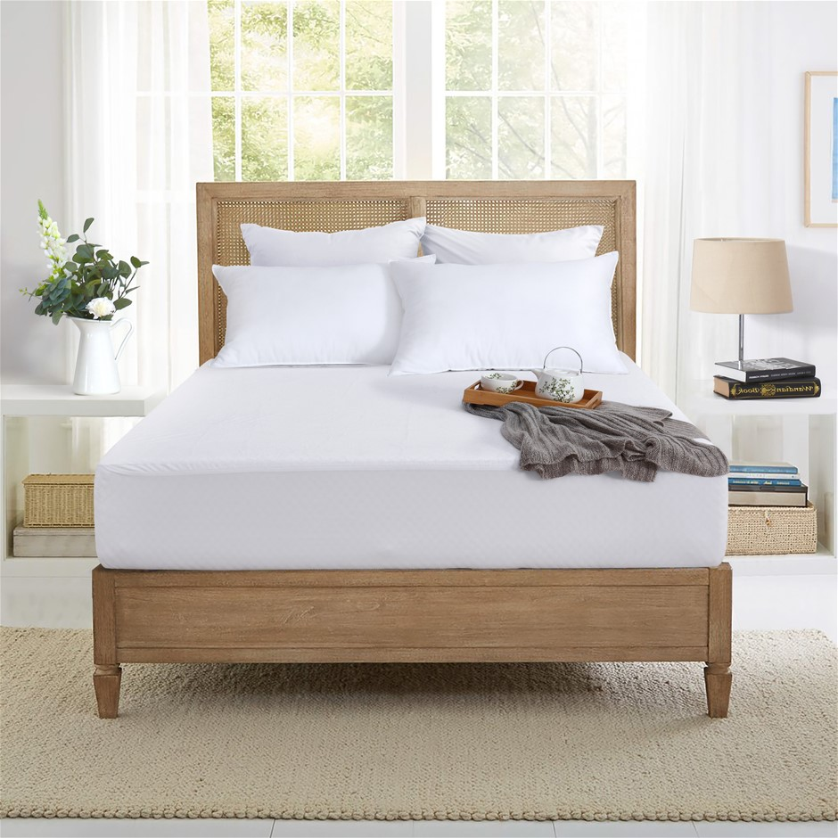 Dreamaker Bamboo Terry waterproof mattress protector King Bed
