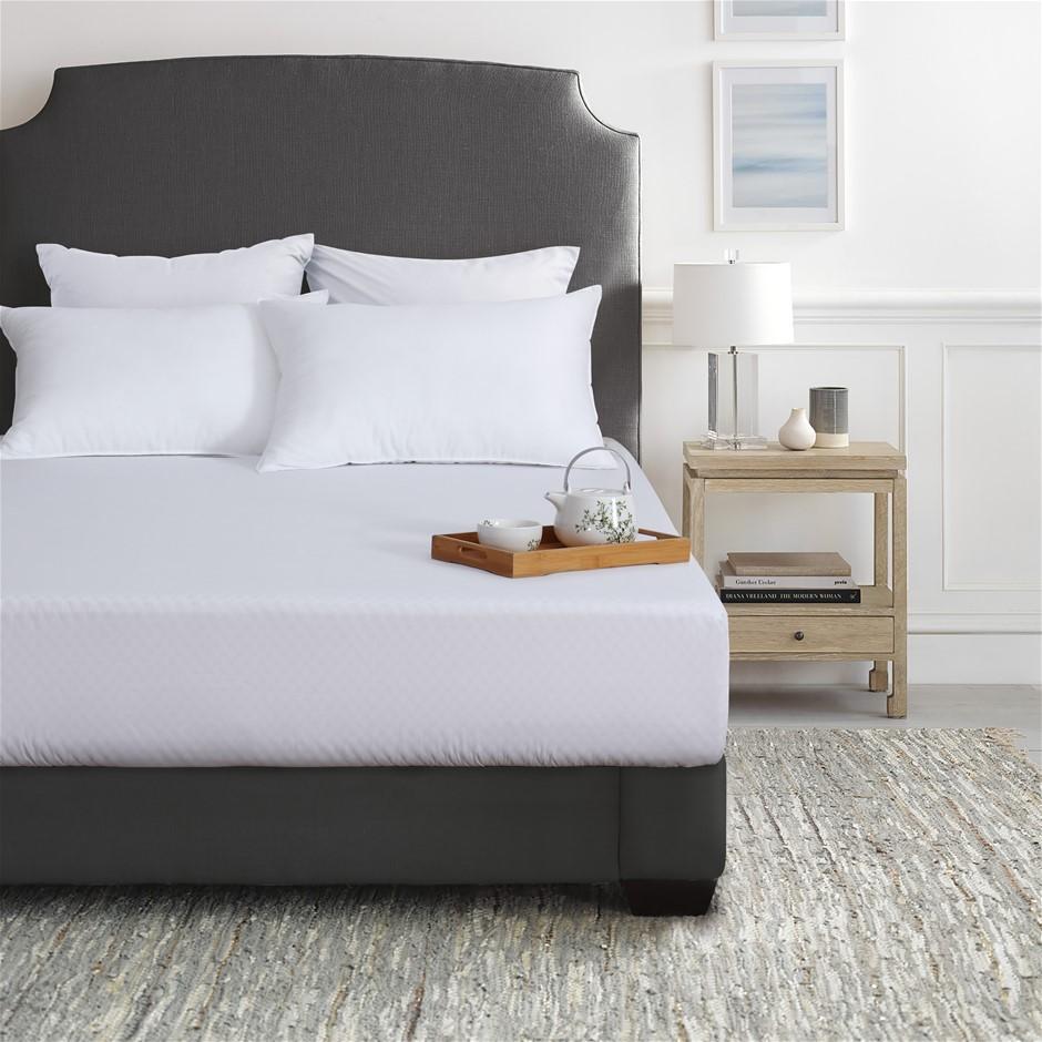 Dreamaker Bamboo cotton jersey waterproof mattress protector King SingleBed