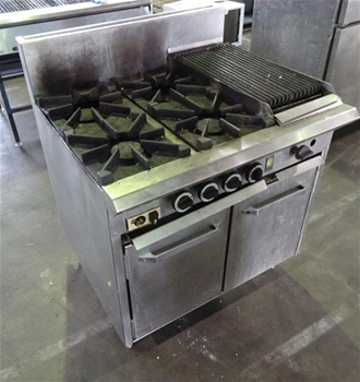 Commercial Stove & Oven