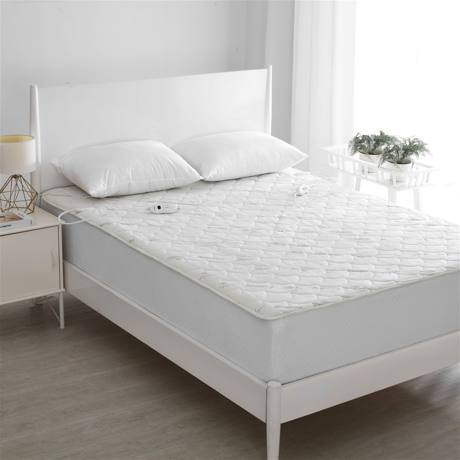 Dreamaker Bamboo Quilted Electric Blanket - King Bed