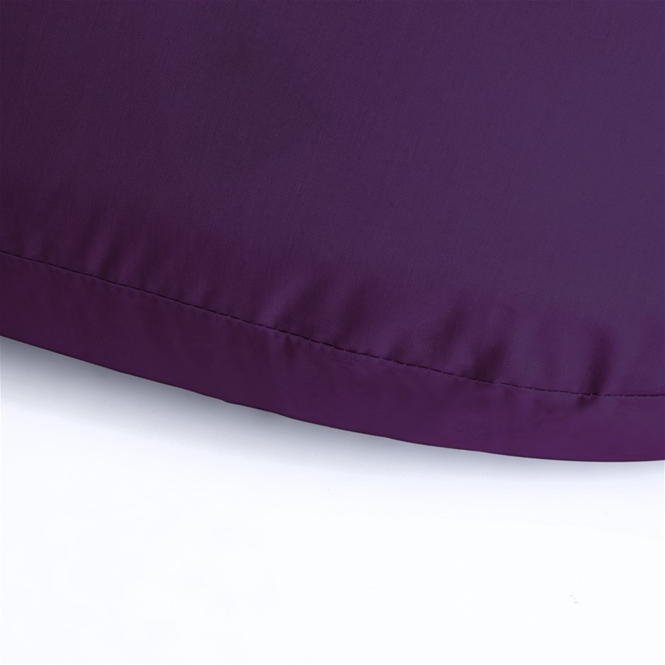Dreamaker 250TC Plain Dyed V shape Pillowcase- Berry