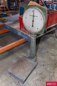 Wedderburn Platform Scale