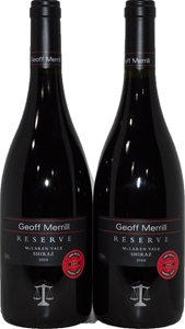 Geoff Merrill Reserve Shiraz 2004 (2x 75