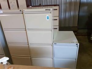 Filing Cabinets x2
