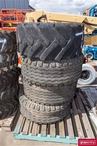 4x Assorted EWP Used Tyres