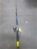 1 x Shimano 7 Foot 6 - 10 Kilo Fishing Rod with Penn Spin Fisher V4500 Reel