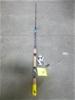 1 x Catalyst Banshee 4 - 8 Kilo Fishing Rod with Spinning Reel