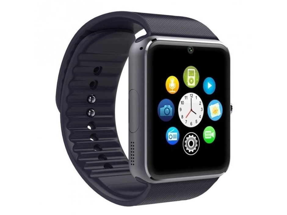 GT08 Bluetooth Smartwatch water-resistant Sport wristwatch - GT08 Black