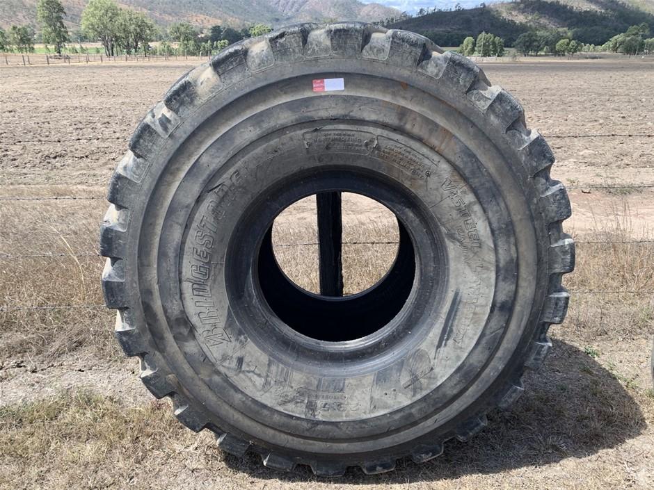 Used 29.5R25 Bridgestone Earthmoving Tyre