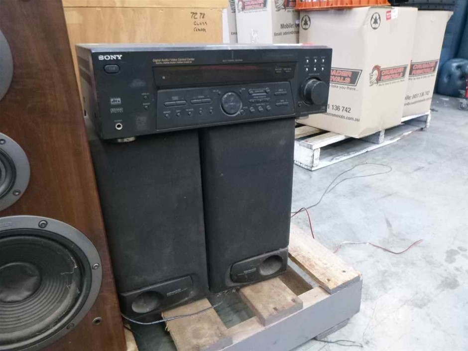 Sony STR-DE485 Home Stereo with 4 x Speakers