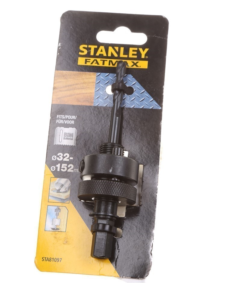 STANLEY Hole Saw Drill Chuck Adaptor. Buyers Note - Discount Freight Rates