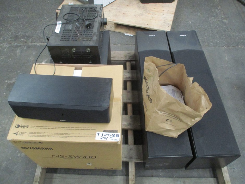Yamaha LiveSTAGE 6500 HTS Home Theatre System