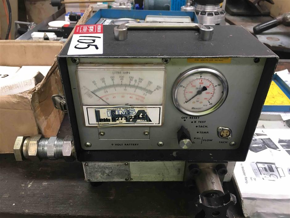 Webtec Hydraulic Tester