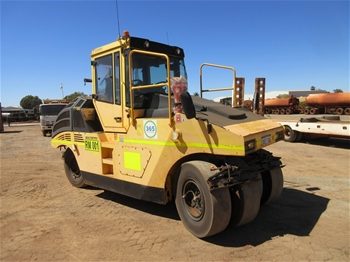 2008 Bomag BW25 RG Multi Wheel Roller