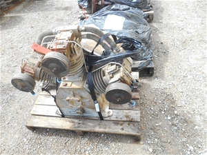 Ingersoll Rand Hydraulic Driven Air Comp
