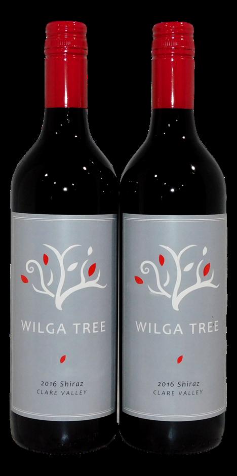 Wilga Tree Shiraz 2016 (2x 750mL), Clare Valley, SA