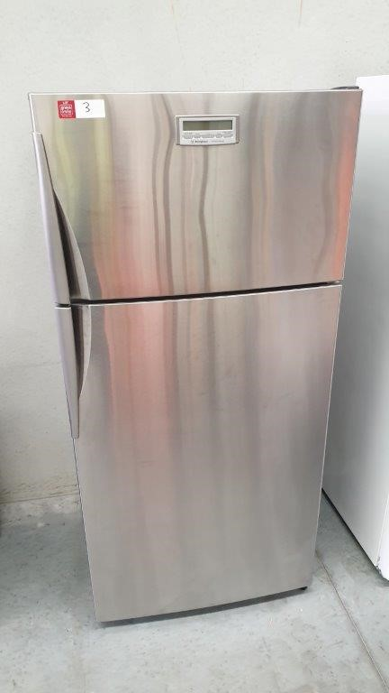 Westinghouse Virtuoso 2 Door Stainless Steel Refrigerator Freezer