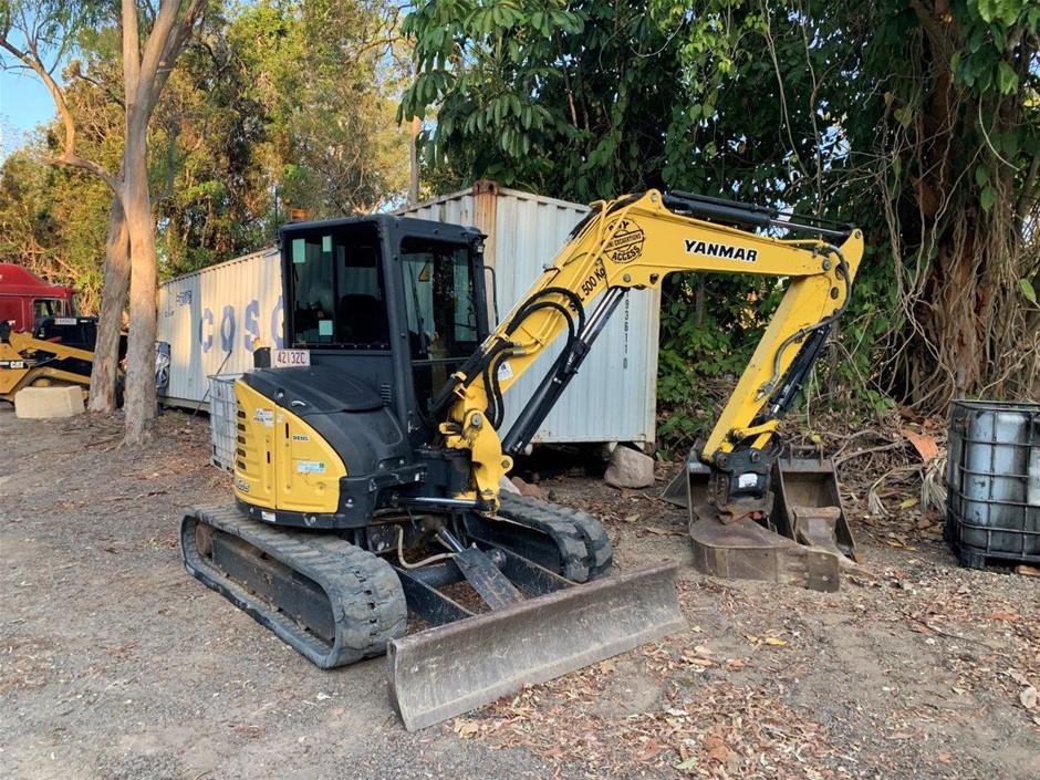 2016 Yanmar VIO55-6B Hydraulic Excavator