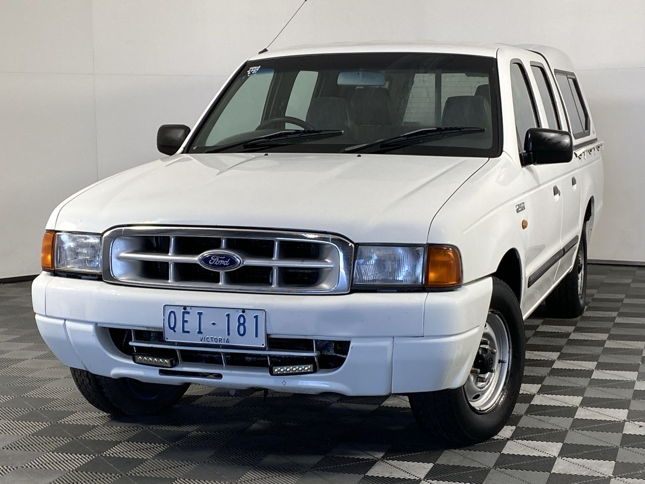 2000 Ford Courier GL PE Manual Dual Cab