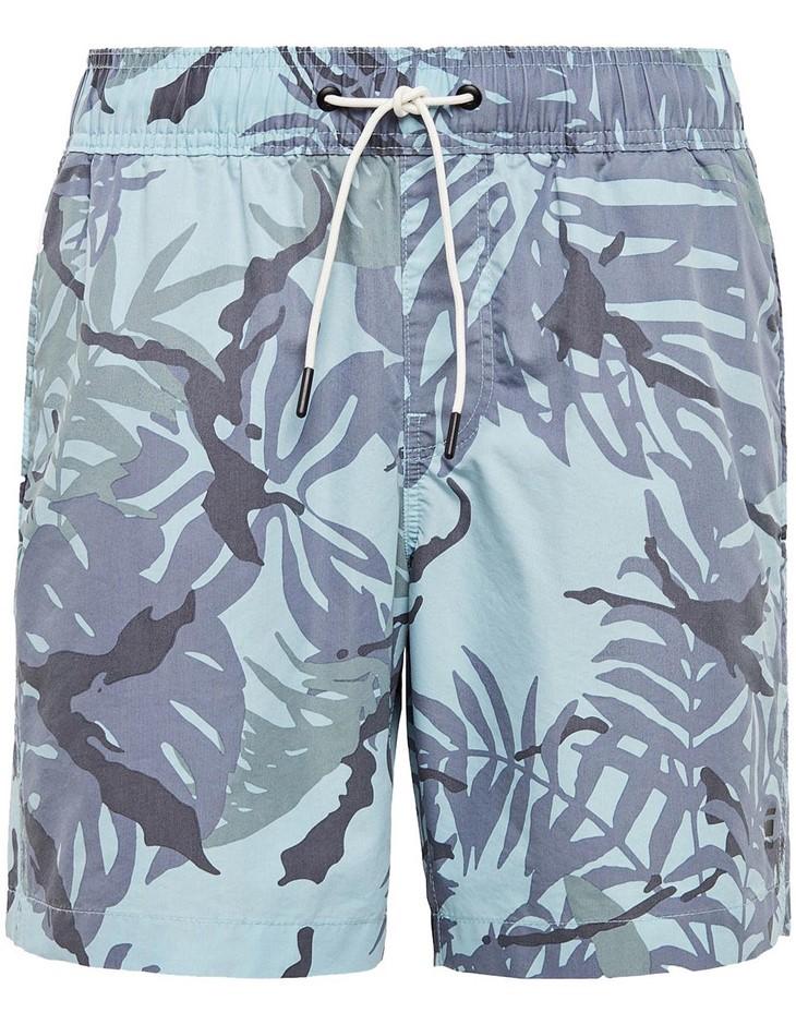 G-STAR Dirik Swimshort. Size XL, Colour: Sky. 70% Cotton, 30% Polyamide. Bu