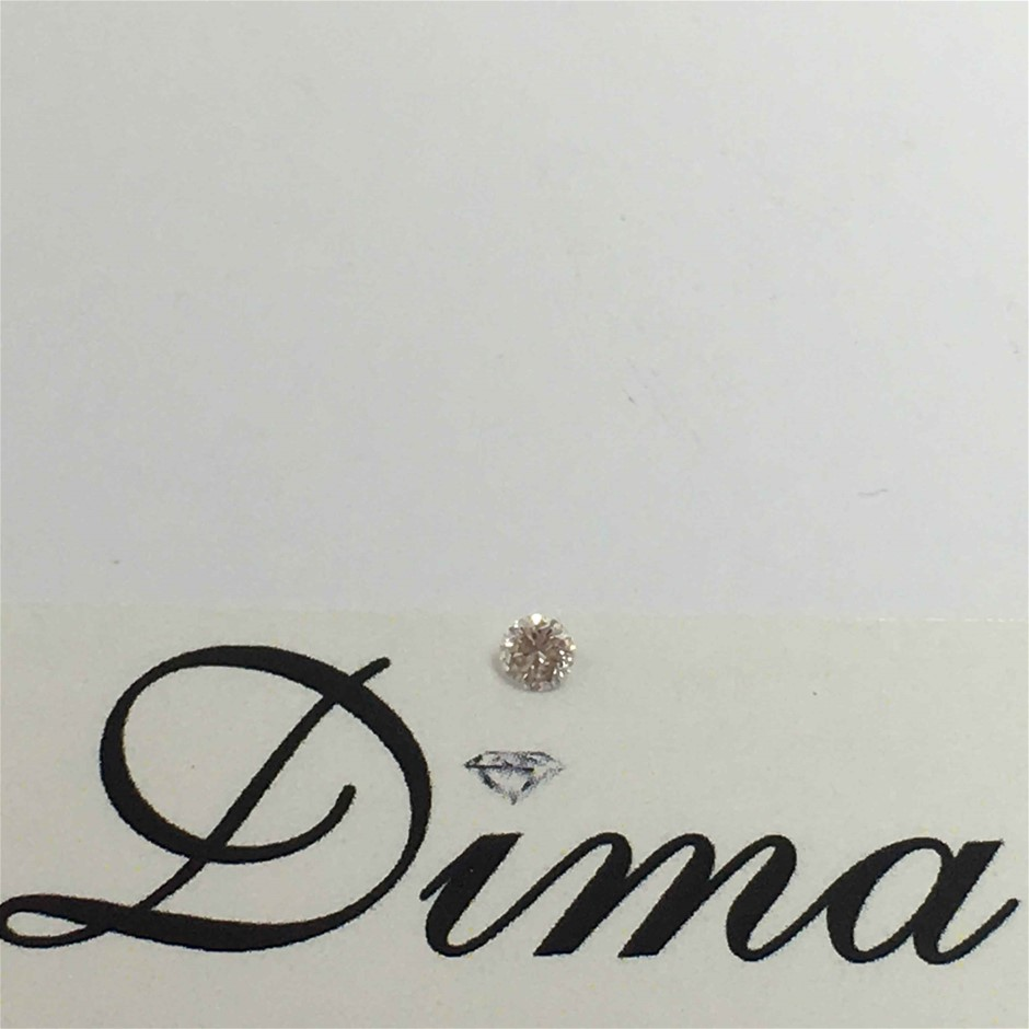 0.03ct Pink Diamond
