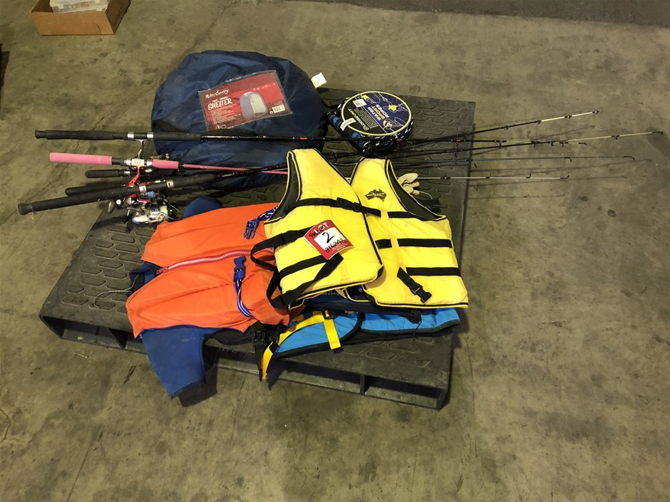 Fishing Rods, Camping Equipment and More
