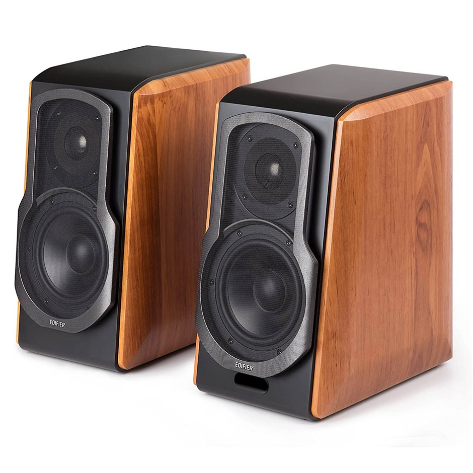 Pair EDIFIER S1000DB Audiophile Active Bookshelf Speakers, Bluetooth 4.0 ap