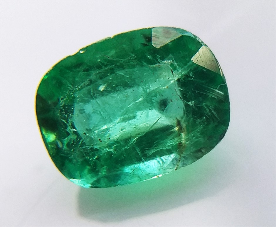 0.98 Carat Colombian Emerald
