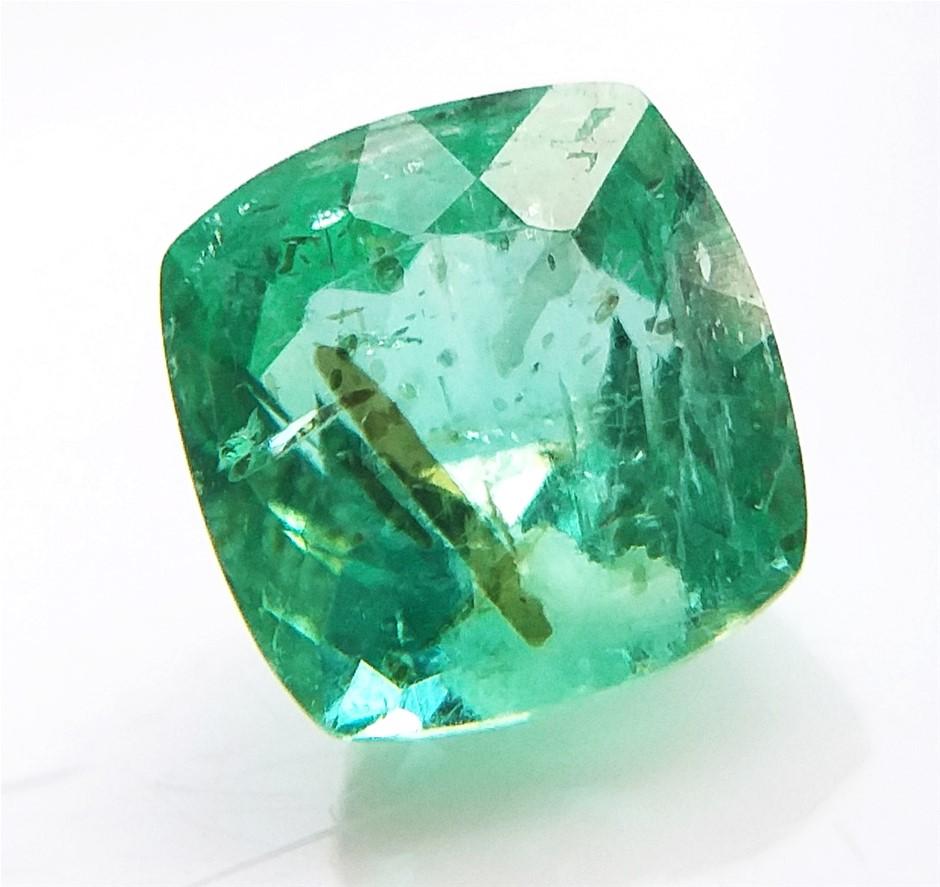 1.12 Carat Colombian Emerald