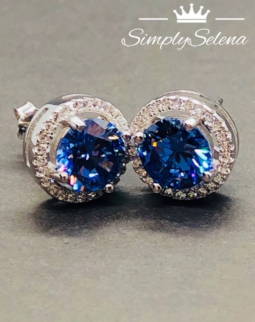 SimplySelena Spherical Tanzanite Earrings
