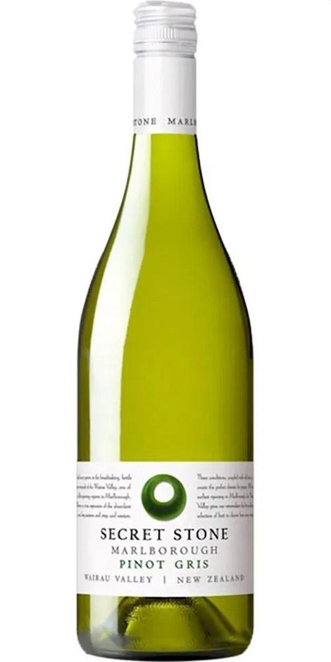 Secret Stone Marlborough Vineyards Pinot Gris 2020 (6x 750mL).