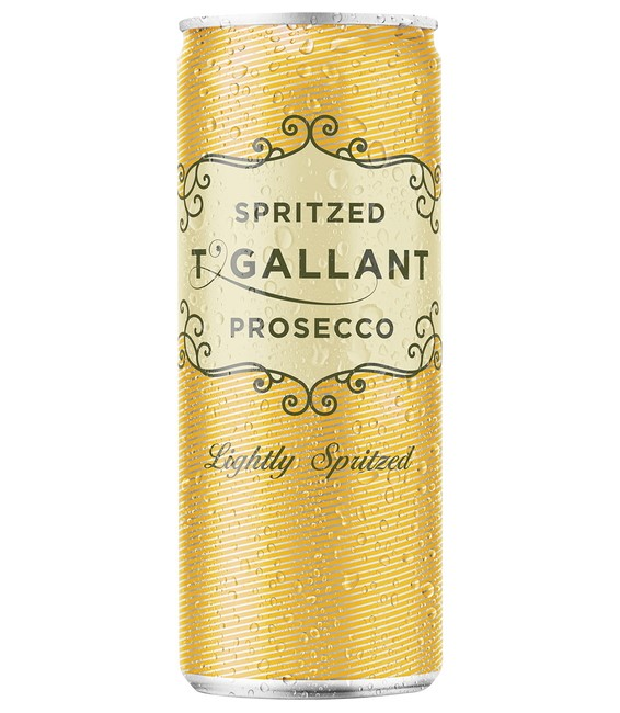 T'Gallant Sparkling Pink Prosecco Spritz Cans NV (6x 750mL).