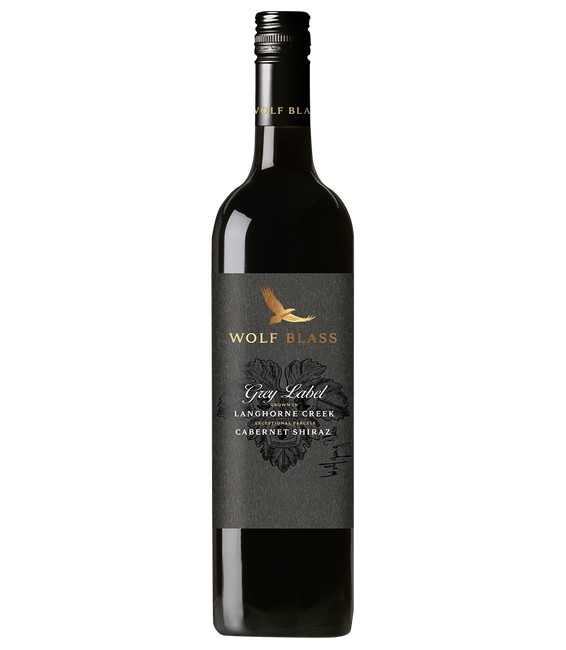 Wolf Blass Grey Label Langhorne Creek Cabernet Shiraz 2018 (6x 750mL).
